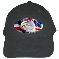 United States Of America Images Independence Day Black Cap by Onesevenart