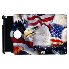 United States Of America Images Independence Day Apple Ipad 2 Flip 360 Case by Onesevenart