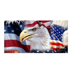 United States Of America Images Independence Day Satin Wrap by Onesevenart