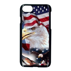 United States Of America Images Independence Day Apple iPhone 7 Seamless Case (Black) by Onesevenart