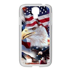 United States Of America Images Independence Day Samsung Galaxy S4 I9500/ I9505 Case (white) by Onesevenart