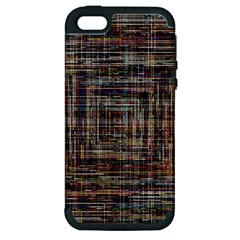 Unique Pattern Apple Iphone 5 Hardshell Case (pc+silicone)