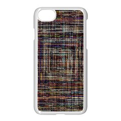 Unique Pattern Apple Iphone 7 Seamless Case (white) by Onesevenart