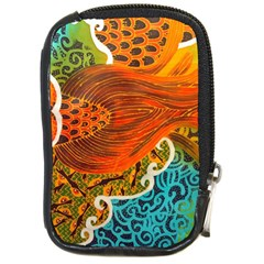 The Beautiful Of Art Indonesian Batik Pattern Compact Camera Cases by Onesevenart