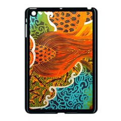 The Beautiful Of Art Indonesian Batik Pattern Apple Ipad Mini Case (black) by Onesevenart