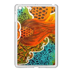 The Beautiful Of Art Indonesian Batik Pattern Apple Ipad Mini Case (white) by Onesevenart