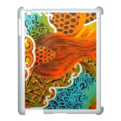 The Beautiful Of Art Indonesian Batik Pattern Apple Ipad 3/4 Case (white) by Onesevenart