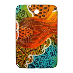 The Beautiful Of Art Indonesian Batik Pattern Samsung Galaxy Note 8 0 N5100 Hardshell Case  by Onesevenart