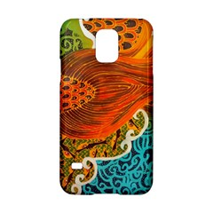 The Beautiful Of Art Indonesian Batik Pattern Samsung Galaxy S5 Hardshell Case  by Onesevenart