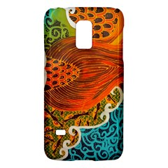 The Beautiful Of Art Indonesian Batik Pattern Galaxy S5 Mini by Onesevenart