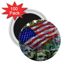 Usa United States Of America Images Independence Day 2 25  Magnets (100 Pack)  by Onesevenart