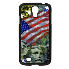 Usa United States Of America Images Independence Day Samsung Galaxy S4 I9500/ I9505 Case (black) by Onesevenart