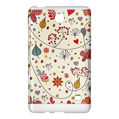 Spring Floral Pattern With Butterflies Samsung Galaxy Tab 4 (8 ) Hardshell Case  by TastefulDesigns