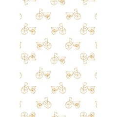 Retro Bicycles Motif Vintage Pattern 5 5  X 8 5  Notebooks by dflcprints