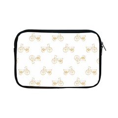 Retro Bicycles Motif Vintage Pattern Apple Ipad Mini Zipper Cases by dflcprints
