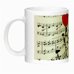 Love Song Night Luminous Mugs by Valentinaart