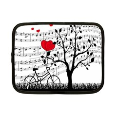 Love Song Netbook Case (small)  by Valentinaart