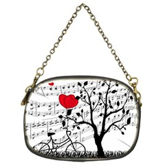 Love Song Chain Purses (one Side)  by Valentinaart