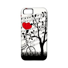 Love Song Apple Iphone 5 Classic Hardshell Case (pc+silicone) by Valentinaart
