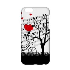 Love Song Apple Iphone 6/6s Hardshell Case by Valentinaart