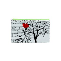 Love Song Cosmetic Bag (xs) by Valentinaart
