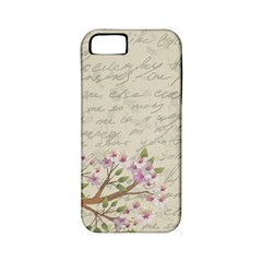 Cherry Blossom Apple Iphone 5 Classic Hardshell Case (pc+silicone) by Valentinaart