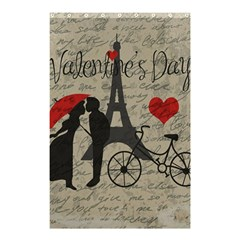 Love Letter   Paris Shower Curtain 48  X 72  (small)  by Valentinaart