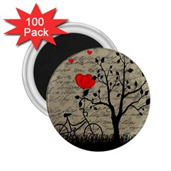 Love Letter 2 25  Magnets (100 Pack)  by Valentinaart