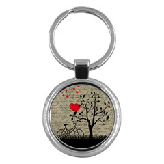 Love Letter Key Chains (round)  by Valentinaart