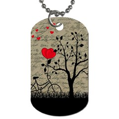 Love Letter Dog Tag (two Sides) by Valentinaart