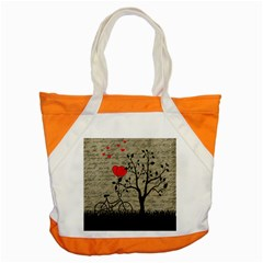 Love Letter Accent Tote Bag by Valentinaart