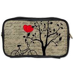 Love Letter Toiletries Bags 2 Side by Valentinaart