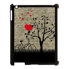 Love Letter Apple Ipad 3/4 Case (black) by Valentinaart