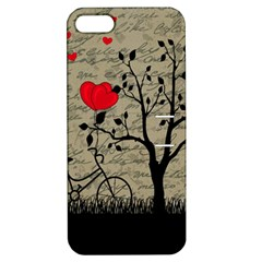 Love letter Apple iPhone 5 Hardshell Case with Stand by Valentinaart