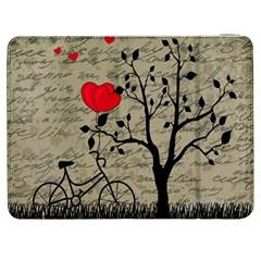 Love Letter Samsung Galaxy Tab 7  P1000 Flip Case by Valentinaart