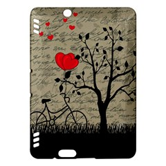 Love Letter Kindle Fire Hdx Hardshell Case by Valentinaart
