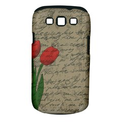 Vintage Tulips Samsung Galaxy S Iii Classic Hardshell Case (pc+silicone) by Valentinaart