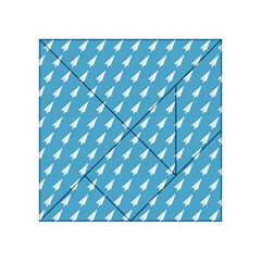 Air Pattern Acrylic Tangram Puzzle (4  X 4 )
