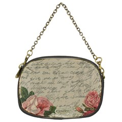 Vintage Roses Chain Purses (two Sides)  by Valentinaart