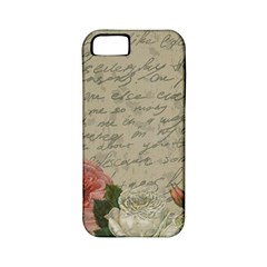 Vintage Roses Apple Iphone 5 Classic Hardshell Case (pc+silicone) by Valentinaart