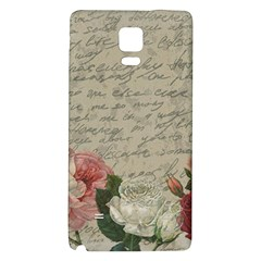 Vintage Roses Galaxy Note 4 Back Case by Valentinaart