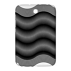Two Layers Consisting Of Curves With Identical Inclination Patterns Samsung Galaxy Note 8 0 N5100 Hardshell Case