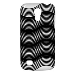 Two Layers Consisting Of Curves With Identical Inclination Patterns Galaxy S4 Mini by Simbadda