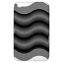 Two Layers Consisting Of Curves With Identical Inclination Patterns Samsung Galaxy Tab 3 (8 ) T3100 Hardshell Case