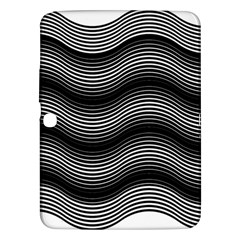 Two Layers Consisting Of Curves With Identical Inclination Patterns Samsung Galaxy Tab 3 (10 1 ) P5200 Hardshell Case