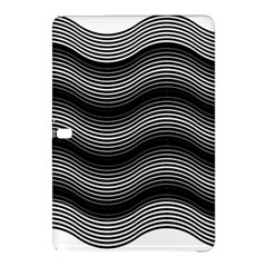 Two Layers Consisting Of Curves With Identical Inclination Patterns Samsung Galaxy Tab Pro 12 2 Hardshell Case