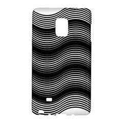 Two Layers Consisting Of Curves With Identical Inclination Patterns Galaxy Note Edge by Simbadda