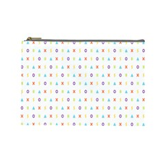 Sign Pattern Cosmetic Bag (large)  by Simbadda