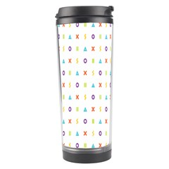 Sign Pattern Travel Tumbler by Simbadda