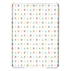 Sign Pattern Ipad Air Hardshell Cases by Simbadda